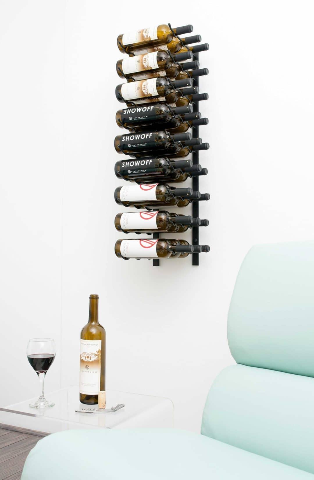 Cool Wine Cellar Vintage View 3 Wall Mounted Wine Rack Vintageview
